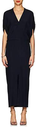 Zero Maria Cornejo Women's Aki Stretch-Silk Dress - Navy