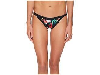 Hurley Quick Dry Garden Cheeky Surf Bottoms Women's Swimwear