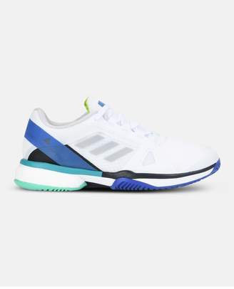 adidas by Stella McCartney White Barricade Tennis Shoes