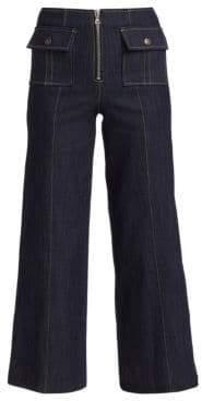 Cinq à Sept Azure Front Denim Pants
