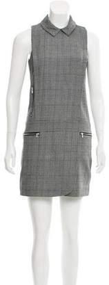 Intermix Wool-Blend Shift Dress