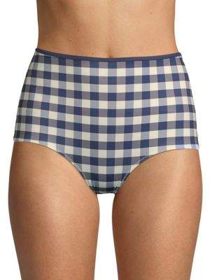 The Brigitte Checkered Bikini Bottom