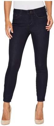NYDJ Dylan Skinny Ankle w/ Zipper Hem in Rinse Women's Jeans
