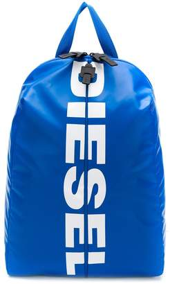 Diesel logo print backpack