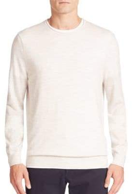 Vince Heathered Wool & Cashmere Blend Sweater