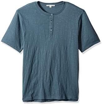 Threads 4 Thought Men's Matthew Organic Cotton Slub Short Sleeve Henley