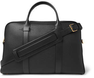 Tom Ford Full-Grain Leather Briefcase - Men - Black