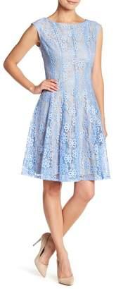 Gabby Skye Sleeveless Lace Dress