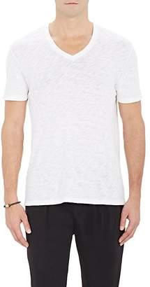 ATM Anthony Thomas Melillo Men's Slub V-Neck T-Shirt