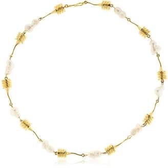 ATTICO Alican Icoz Torsado Pearls Necklace