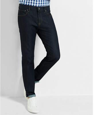 Express slim dark wash stretch jeans