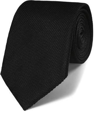 Charles Tyrwhitt Black Silk Plain Classic Tie