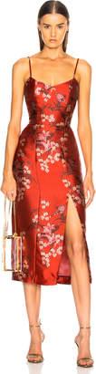 Johanna Ortiz El Dia Que Me Quieras Dress in Renaissance Victorian Red | FWRD