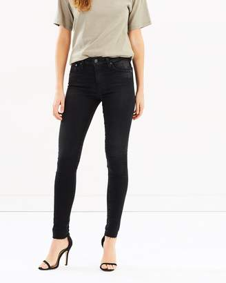 AG Adriano Goldschmied Farrah Skinny 4 Years Burnished Jeans