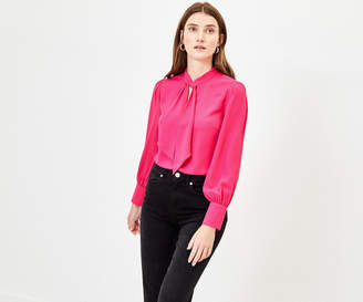 Oasis PUSSY BOW BLOUSE