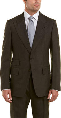 Tom Ford 2Pc Mohair Suit With Pleated Pant