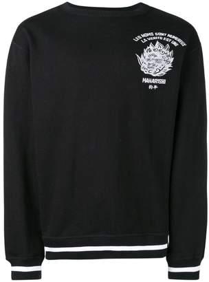 MHI logo embroidered sweatshirt
