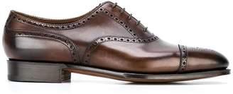 Edward Green 'Dark Antique' Oxford shoes