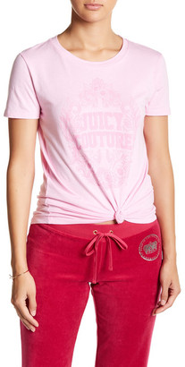 Juicy Couture Floral Framed Tee $19.97 thestylecure.com