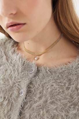 Urban Outfitters Jasmyn Rhinestone Choker Necklace