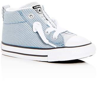 Converse Unisex Chuck Taylor All Star Street Mid Top Sneakers - Walker, Toddler
