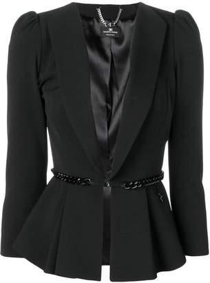 Elisabetta Franchi belted blazer jacket