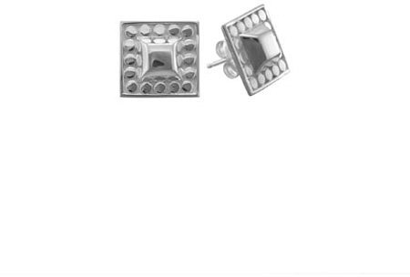 Anna Beck Silver Stud Post Earrings