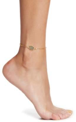 A.V. Max Semi-Precious Labradorite Anklet