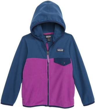 Patagonia 'Micro D(R) Snap-T(R)' Hooded Fleece Jacket