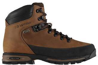 Karrimor Mens Bobcat Walking Boots Lace Up Breathable Waterproof Vibram Leather