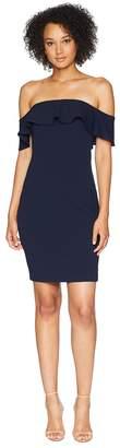 Calvin Klein Off the Shoulder Sheath Dress CD8B13RC Women's Dress