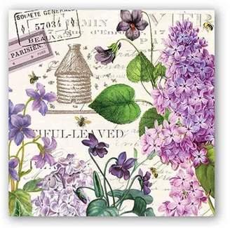 Michel Design Works Lilac Cocktail Napkin