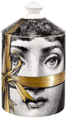 Fornasetti Regalo Gold Otto Scented Candle With Lid