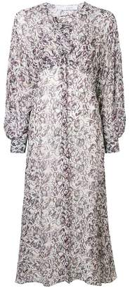 IRO long all-over print dress