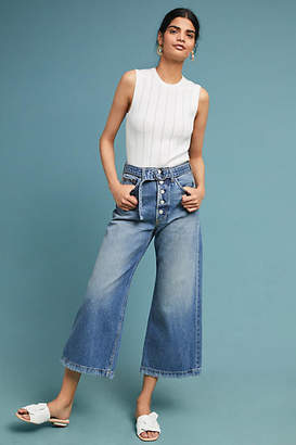 Boyish Charley Ultra High-Rise Wide-Leg Jeans
