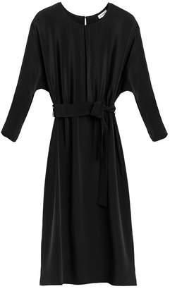 Cuyana Dolman Sleeve Silk Dress