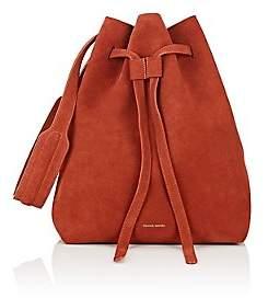 Mansur Gavriel Women's Drawstring Hobo Bag - Brick