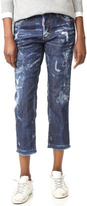 DSQUARED2 Boyfriend Jeans $580 thestylecure.com