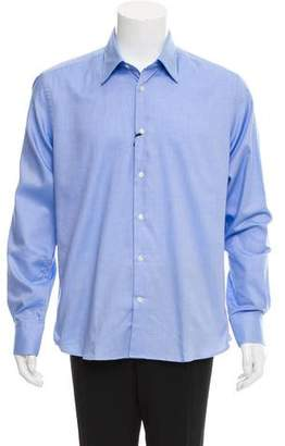 Versace Woven Button-Up Shirt w/ Tags