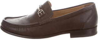 BallyBally Lorian Leather Penny Loafers