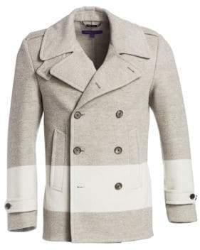 Ralph Lauren Purple Label Leadenhall Wool-Blend Peacoat