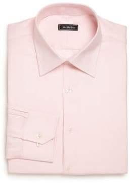 Regular-Fit Patterned Dress Shirt