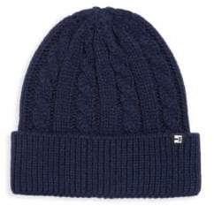 Block Headwear Cable Knit Cuff Beanie