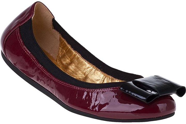 Kate Spade Felice Ballet Flat Ruby Red Patent