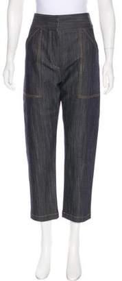 ADAM by Adam Lippes High-Rise Straight-Leg Jeans w/ Tags