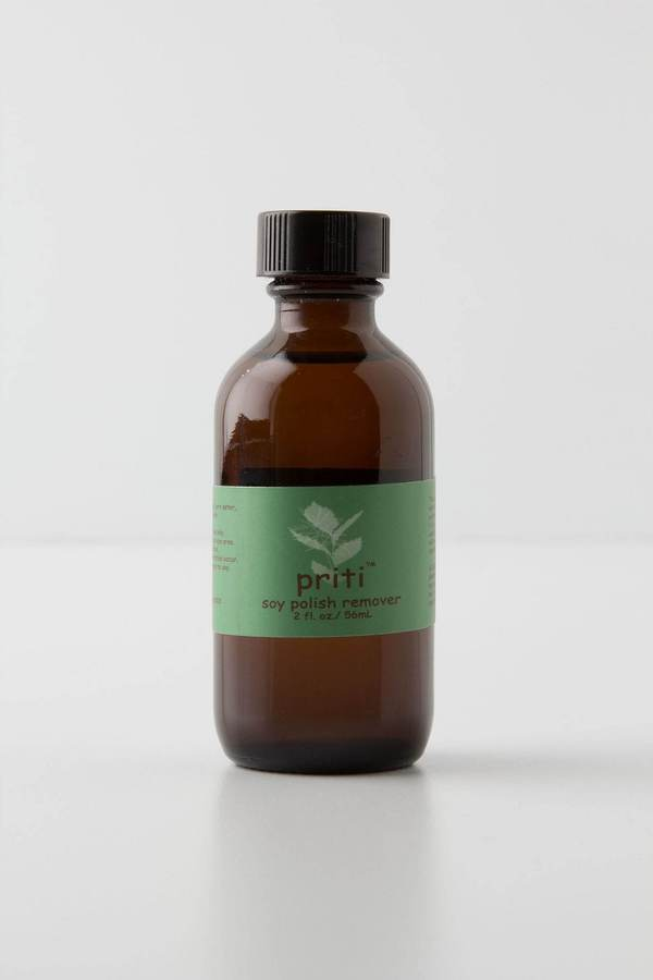 Anthropologie Priti NYC Soy Nail Polish Remover