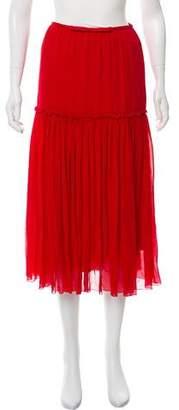 Giambattista Valli Pleated Midi Skirt w/ Tags