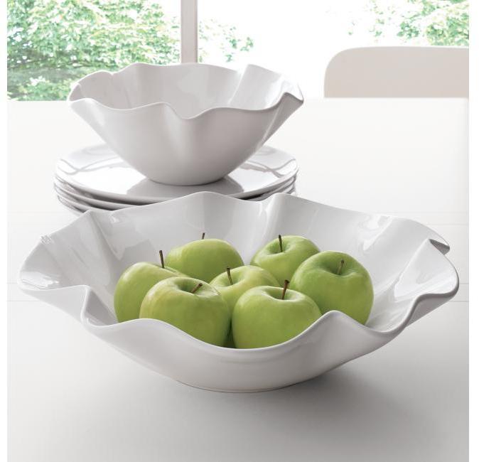 Ruffle Bowls