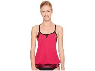 Nike Laser Sport Tankini Top Women's Swimwear