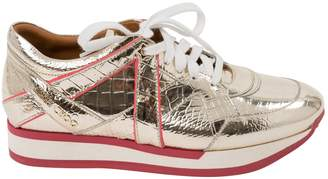 Jimmy Choo Leather trainers